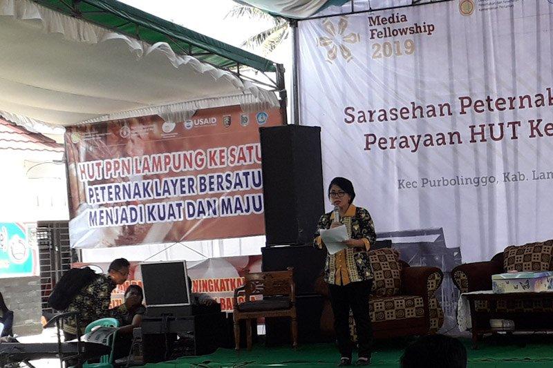 PPN  ingin jadikan Lampung sebagai zona kompartemen bebas AI