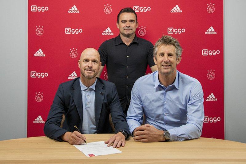 Ajax perpanjang kontrak Erik ten Hag