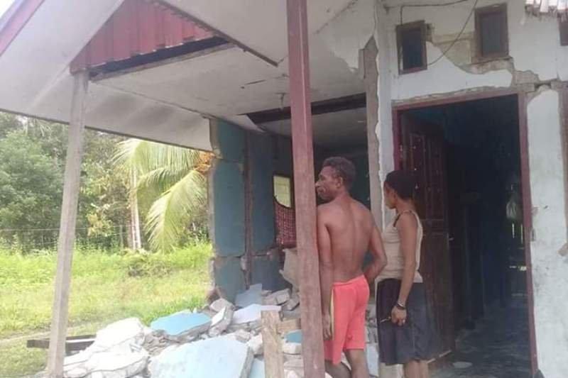 BNPB: 33 rumah rusak berat akibat gempa Sarmi