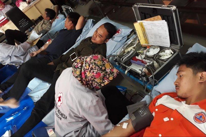 BPBD Makassar tambah stok darah melalui aksi donor