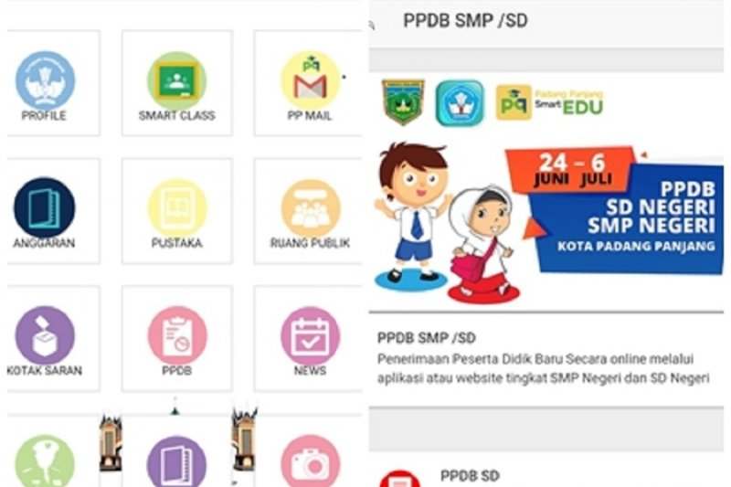 Unduh di Play Store, Padang Panjang SmartEdu akan pandu pendaftaran peserta didik baru