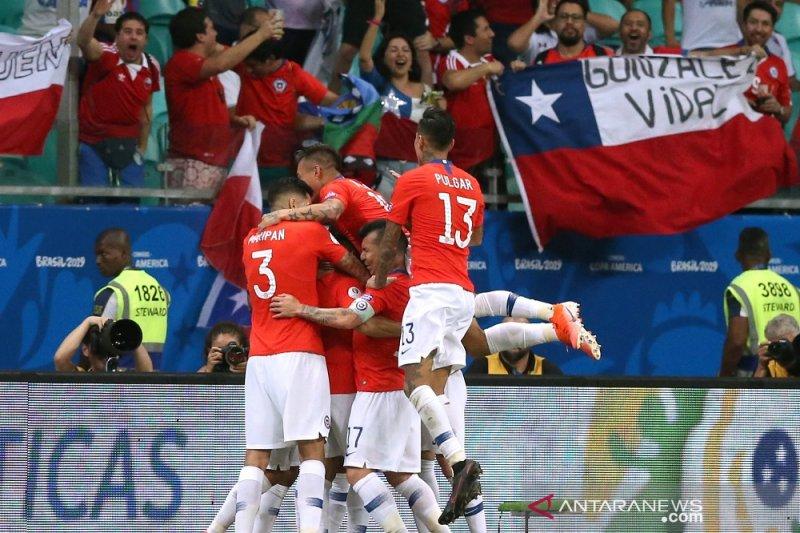 Klasemen Copa America setelah Chile dan Kolombia ke perempat final