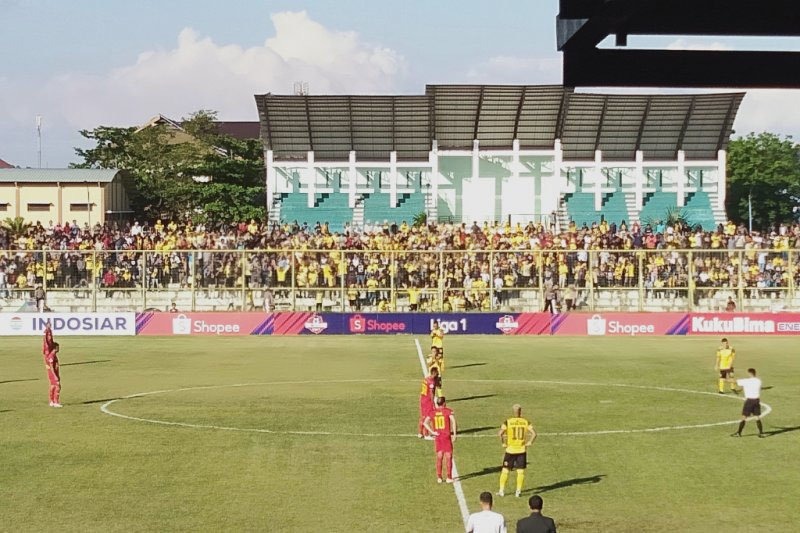 Kalteng Putra kalahkan Barito Putera 2-1 pada derby Kalimantan