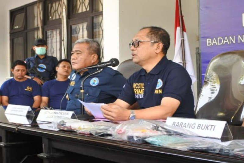 BNNP Jateng ungkap jaringan narkoba lintas provinsi