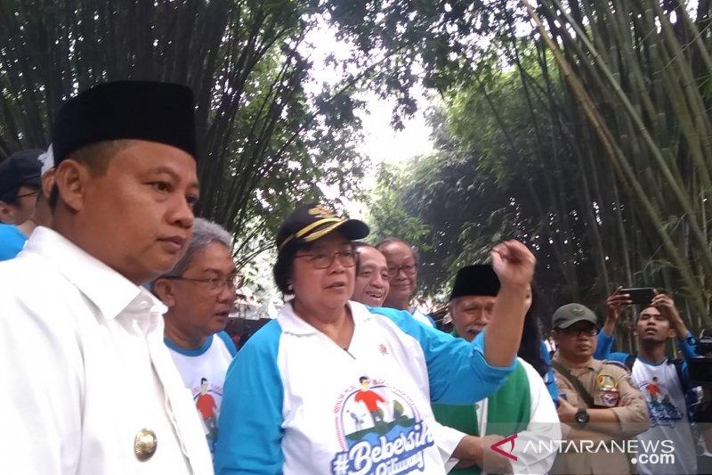 Menteri LHK: Galakkan penanaman bambu di sepadan sungai Ciliwung