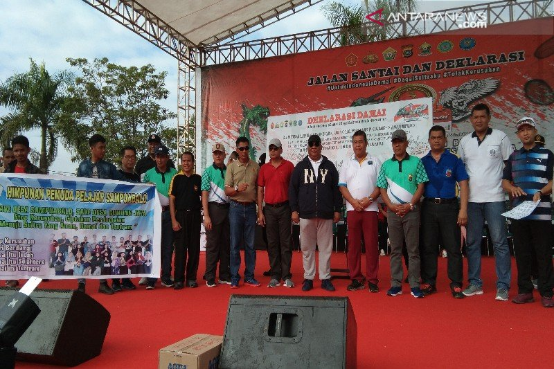 Polda Sulawesi Tenggara deklarasikan damai