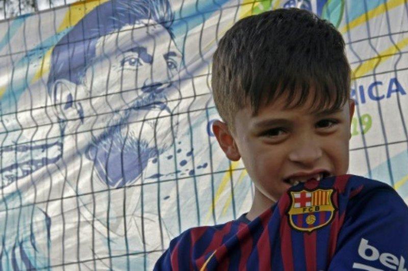 Ketika Messi gagal bertemu Messi