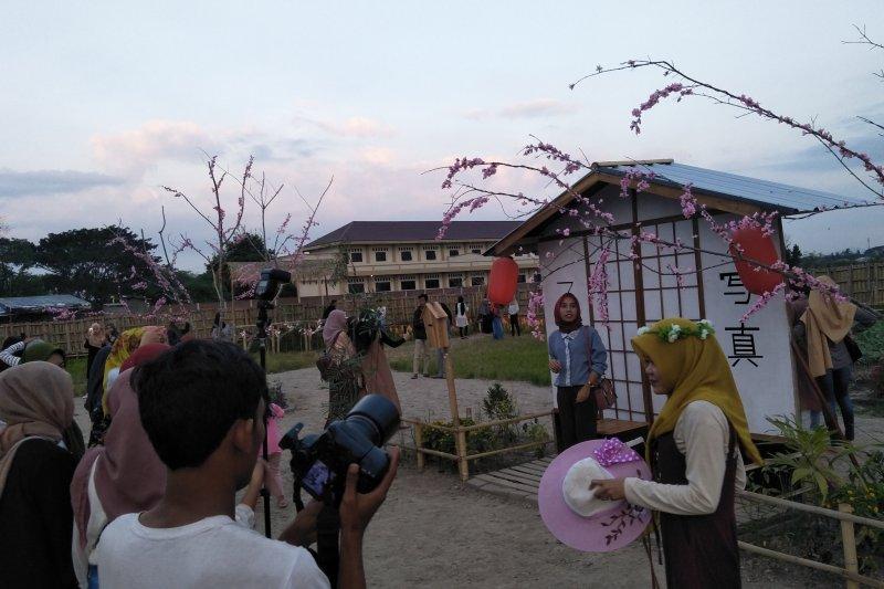 Kampung wisata ala Jepang di Mataram diburu pengunjung