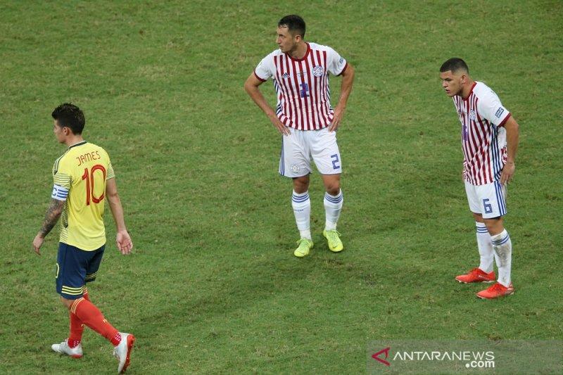 Copa America -- Kolombia pangkas harapan Paraguay untuk melaju ke perempat final