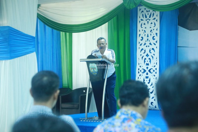 Gelar Rakor untuk Evaluasi Capaian Realisasi Dana Dekon dan TP