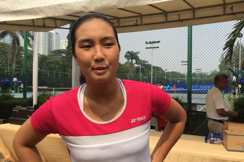 Aldila lanjutkan pertandingan di final ITF tour