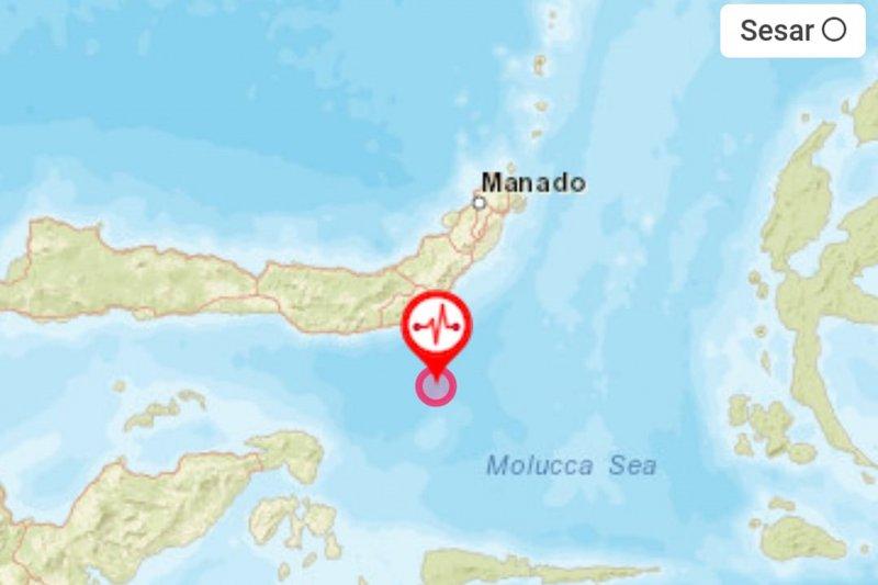 Gempa Bolaang Mongondow terasa hingga bagian barat Gorontalo Utara