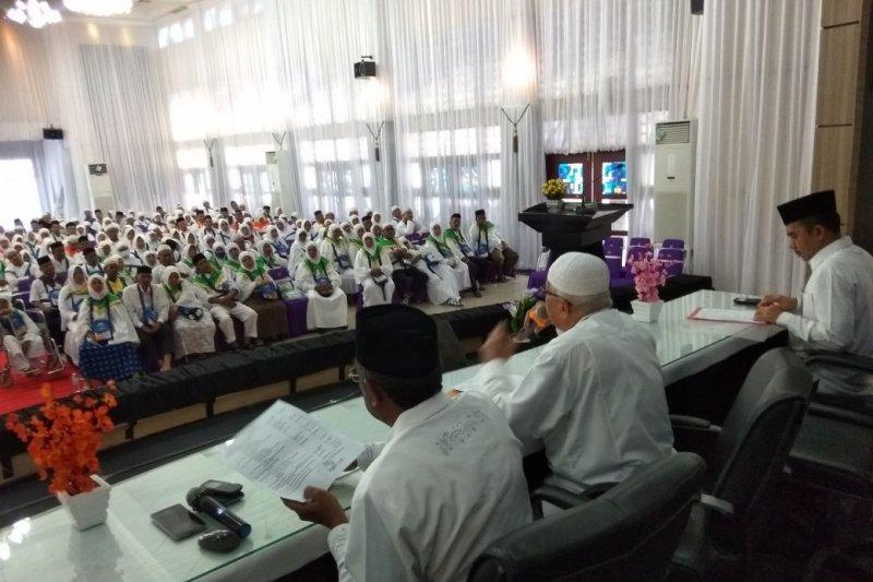 Humas: JCH Aceh kloter pertama mulai masuk asrama