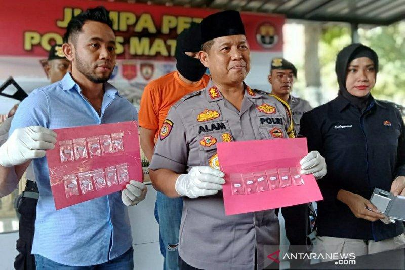 Polres Mataram mengungkap kasus peredaran pil ekstasi