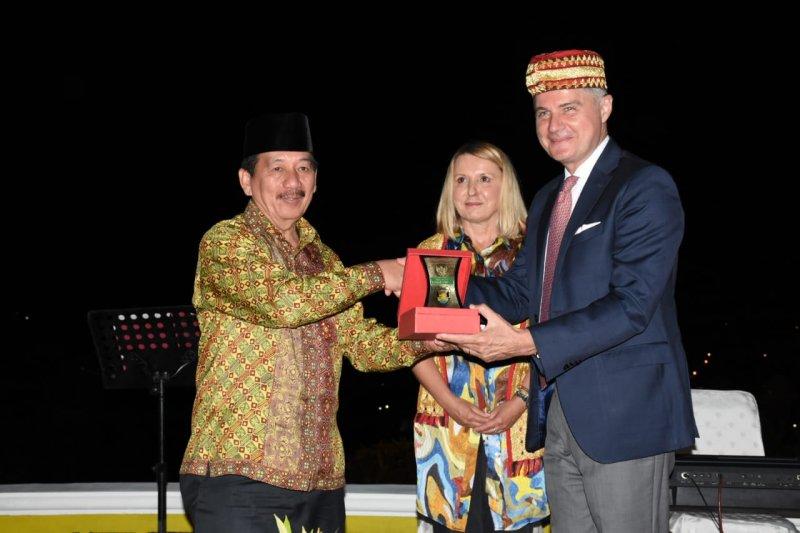 Wali Kota Herman HN tawarkan potensi wisata ke Dubes Kroasia