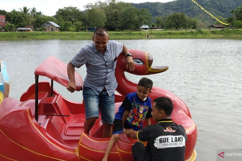 Talago Anguih, destinasi wisata baru yang mulai ramai dikunjungi di Tanah Datar