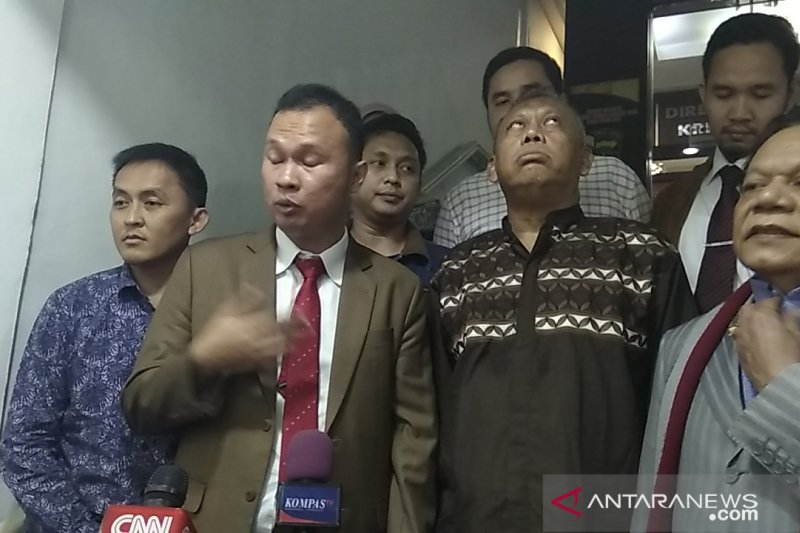 Eggi Sudjana sambangi Polda Metro tanya perkembangan SP3 kasus makar