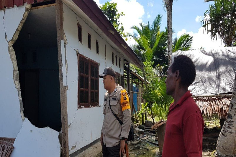 Pemkab Sarmi akan perbaiki rumah warga rusak akibat gempa