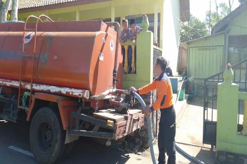 BPBD Temanggung distribusikan air bersih ke desa terdampak kekeringan