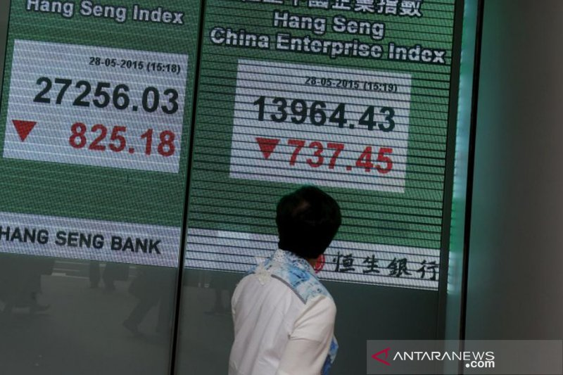 Bursa Hong Kong melemah, Indeks Hang Seng ditutup turun 62,75 poin