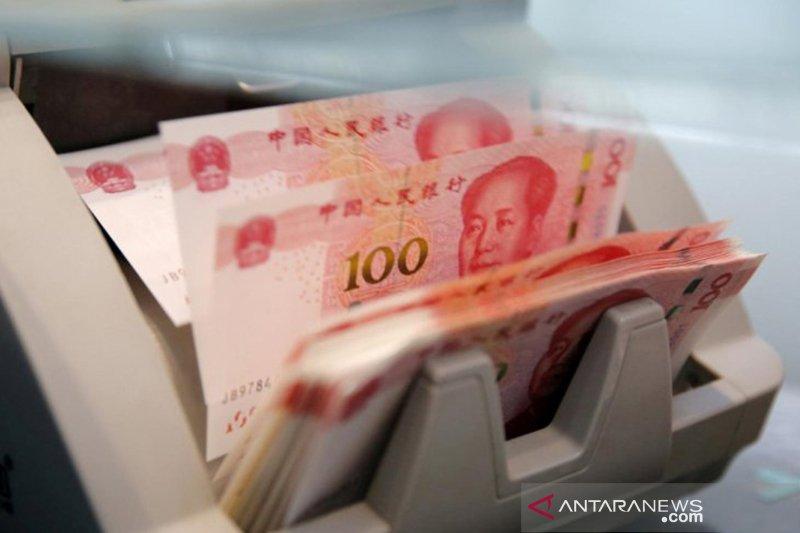Yuan balik menguat 93 basis poin terhadap dolar AS