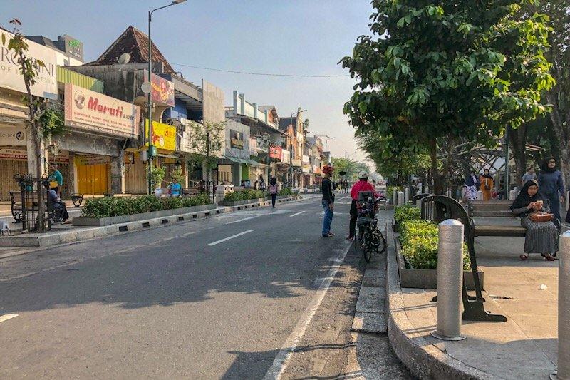 Yogyakarta kembali gencarkan penertiban reklame di Malioboro