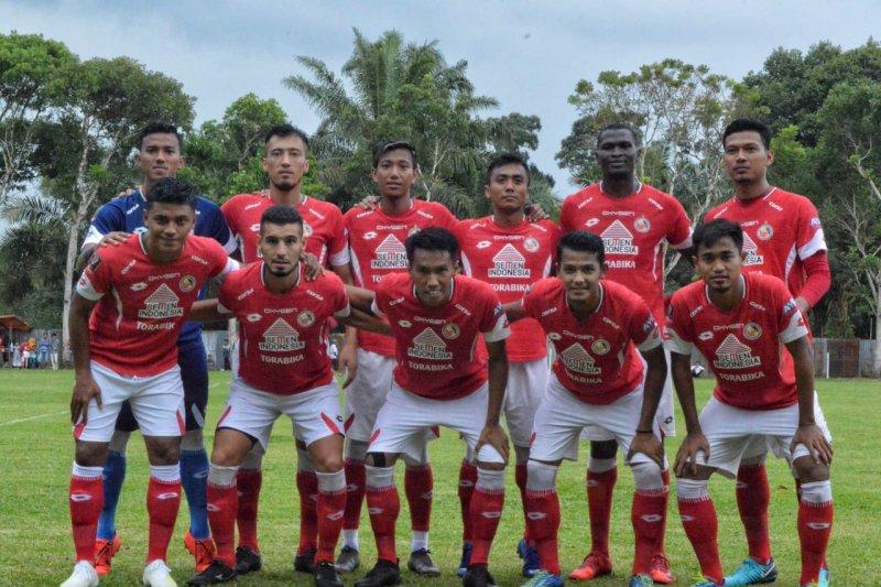 Tandang ke Papua, Semen Padang boyong 16 pemain
