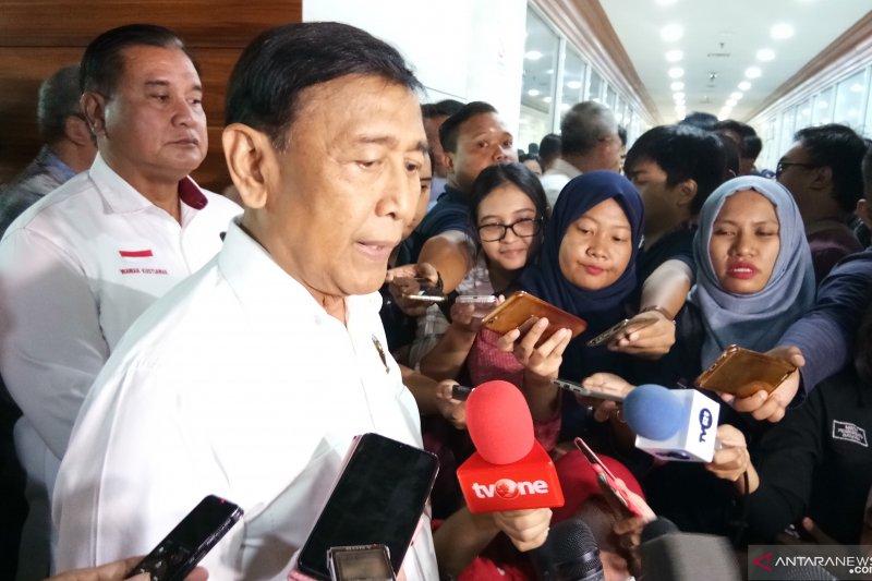 Wiranto dukung rencana pertemuan Jokowi-Prabowo
