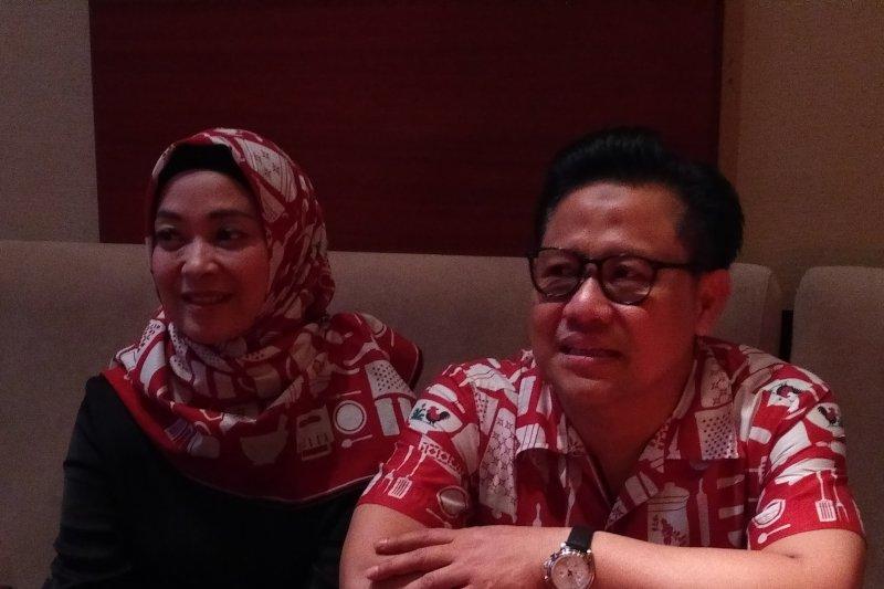 Usai pemilu, Muhaimin dan politisi PKB nonton film