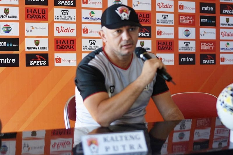 Kalteng Putra bermain lepas hadapi Bali United