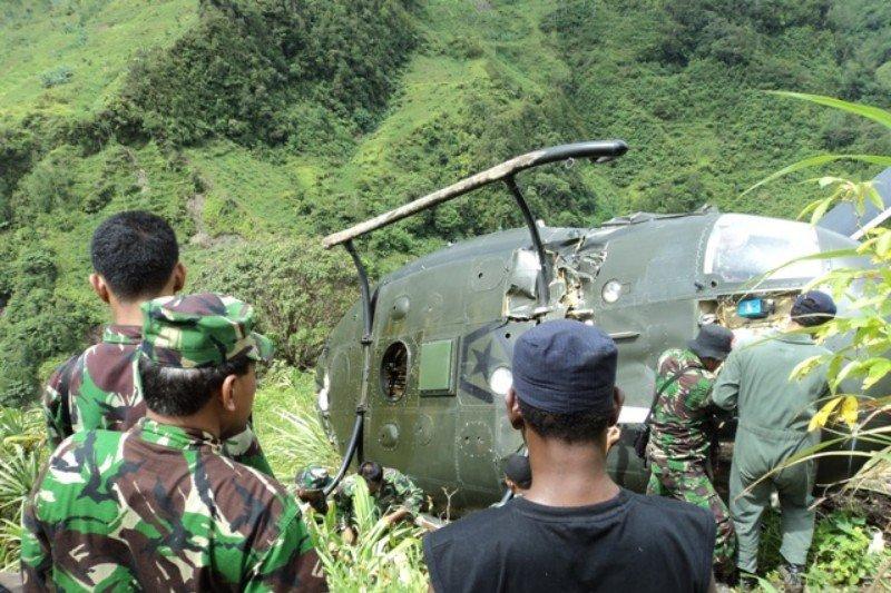 Kodam XVII Cenderawasih bantah ada helikopter yang ditembak KKSB