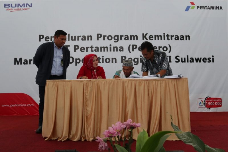 Pertamina salurkan program kemitraan Rp3,4 miliar