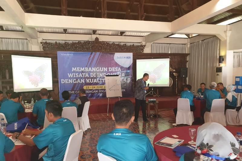 BCA mengadakan pelatihan inovasi untuk meningkatkan layanan desa wisata