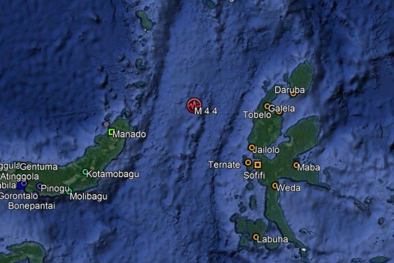 Gempa berkekuatan magnitudo 6,1 guncang Jailolo, Halmahera Barat
