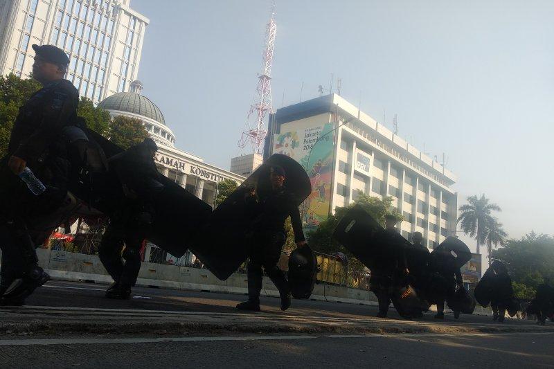 Ada rencana aksi, polisi perketat pengamanan sekitar gedung MK