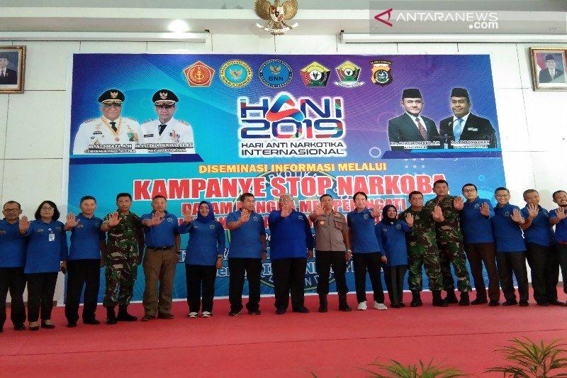 Peringati HANI 2019, BNNP gelar desiminasi  kampanye stop narkoba
