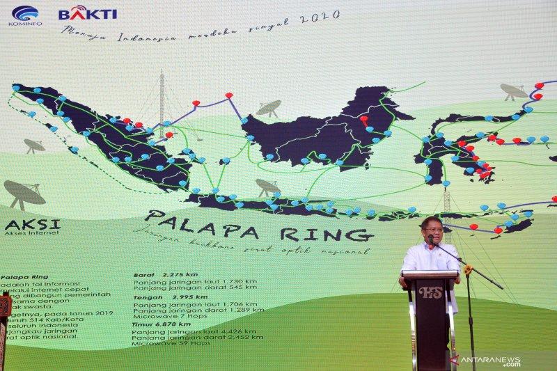Rudiantara: Palapa Ring Timur selesai