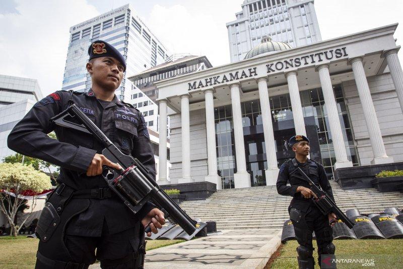 Jelang putusan MK, polisi di Bogor gencar patroli tengah malam