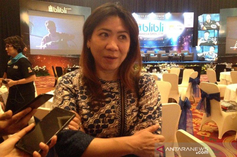 Susy Susanti minta semua pemain berjuang keras di China Open
