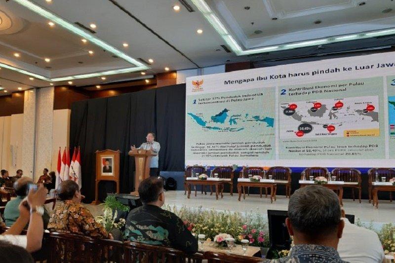 Menteri PPN Bambang Brodjonegoro ungkap alasan pentingnya memindah ibu kota negara