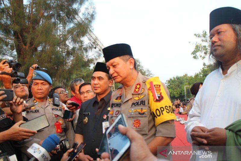 Kapolda Jateng kirim pesan damai dari Solo