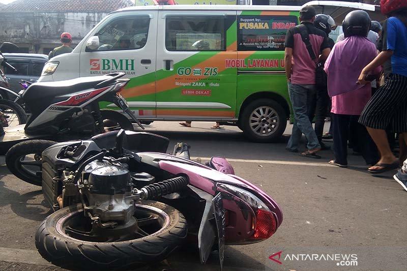 Polisi selidiki kecelakaan beruntun di Purwokerto menewaskan satu orang