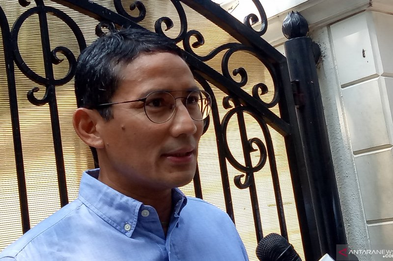 Sandiaga fights for a reason