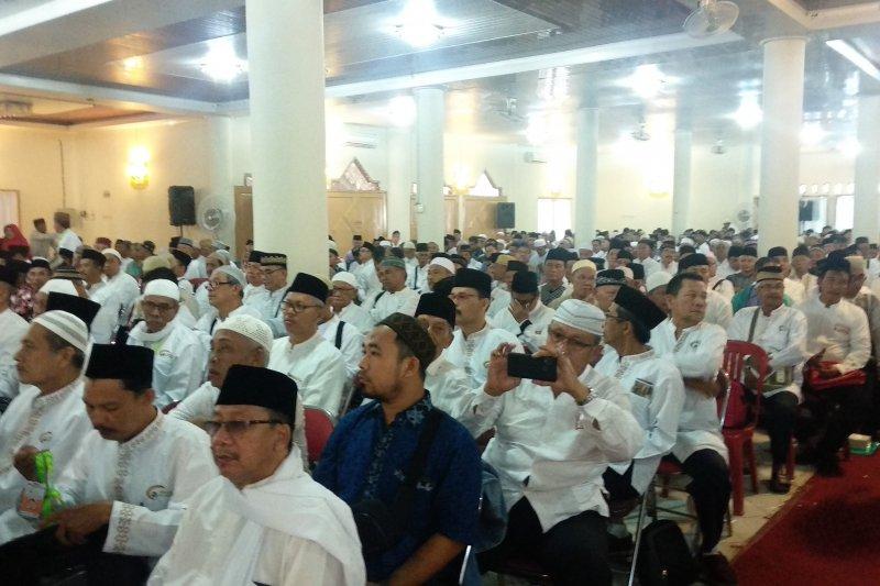 Pemberangkatan JCH  Lampung mulai 12 Juli