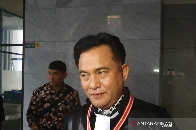 Yusril yakin MA tolak permohonan kasasi kedua Prabowo-Sandi