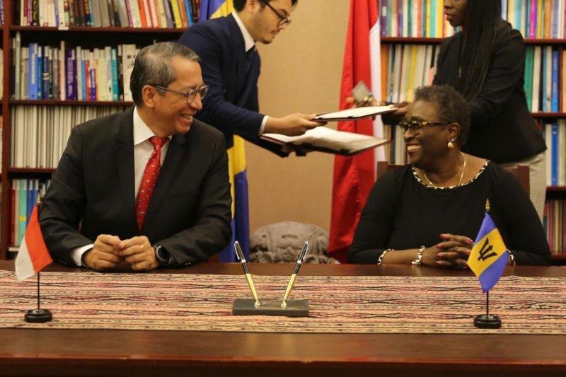 Indonesia, Barbados buka hubungan diplomatik