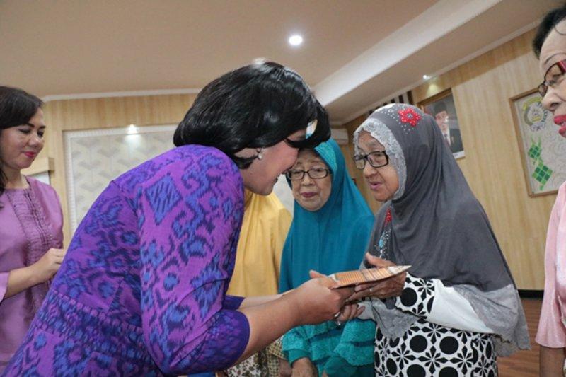Bhayangkari Sulut gelar halalbihalal bersama Polwan - ASN