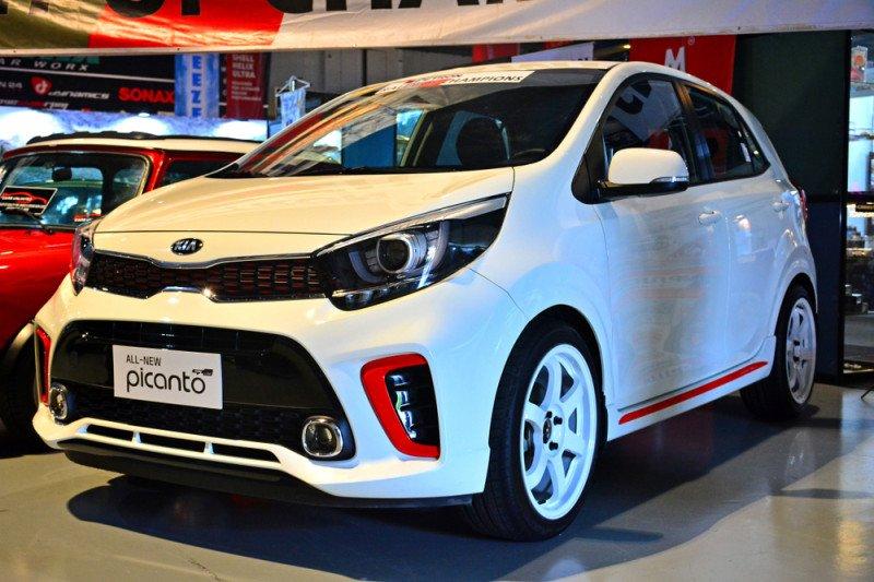 Wajah baru Kia Picanto yang bakal masuk ke Indonesia