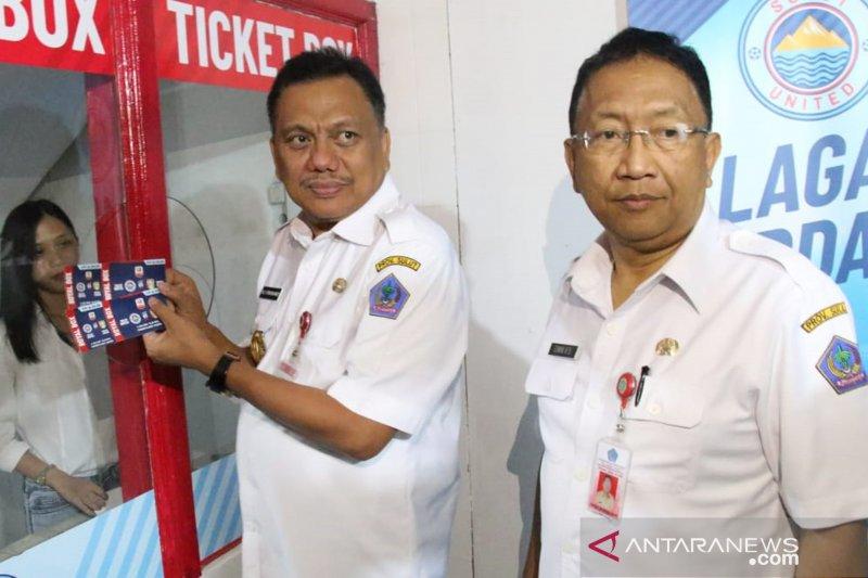 Gubernur : Jangan beli tiket laga Sulut United FC melalui calo