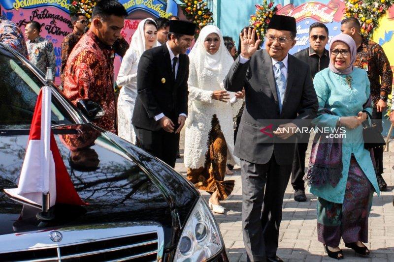 Jusuf Kalla jadi saksi akad nikah putri Khofifah Indar Parawansa